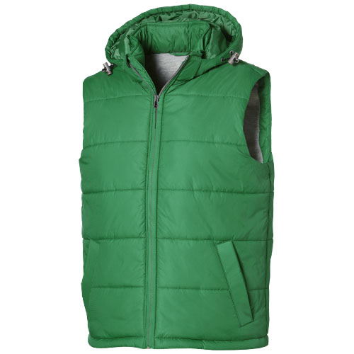 Basic heren bodywarmer groen