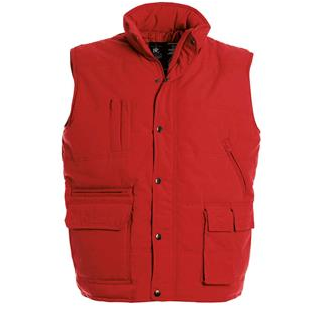 0B&C Bodywarmer Explorer Red1014757 Red14757 Red