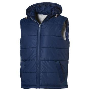 Mixed double bodywarmer voor dames navy