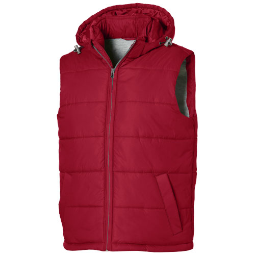 Basic heren bodywarmer rood