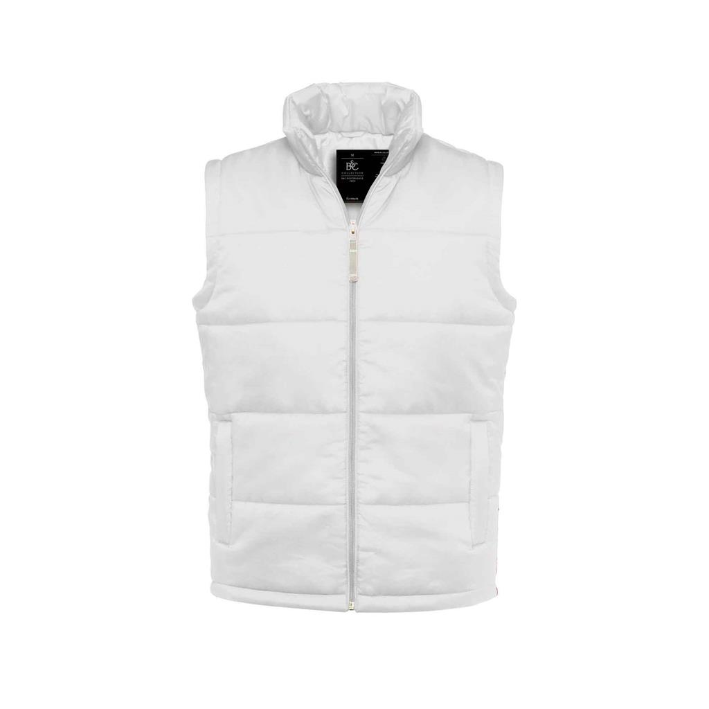 Budget heren bodywarmer wit