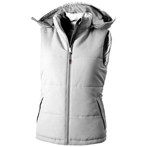 Gravel Dames bodywarmer wit